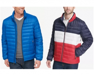 ihocon: Tommy Hilfiger Men's Down Quilted Packable Logo Jacket  男士羽絨夾克 - 多色可選