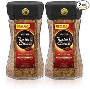 Nescafe Taster's Choice 即溶咖啡 7oz 2瓶 $11.38免運