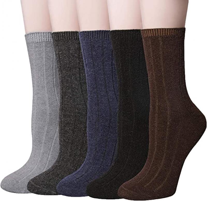 YSense女士 Merino 羊毛襪  5雙 $4.99
