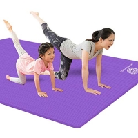 ihocon: JOANNA'S HOME Large Exercise Mat 4X6 ft 大型運動地墊