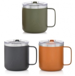 ihocon: Ozark Trail 12oz Vacuum Insulated Stainless Steel Mug, Set of 3  不銹鋼保温杯