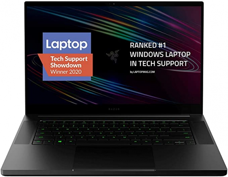ihocon: Razer Blade 15 Base Gaming Laptop 2020: Intel Core i7-10750H 6-Core, NVIDIA GeForce RTX 2070 Max-Q, 15.6 4K OLED, 16GB RAM, 512GB SSD, CNC Aluminum, Chroma RGB, Thunderbolt 3 遊戲電腦