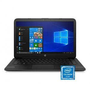 ihocon: HP Stream 14-inch Laptop, Intel Celeron N4000, 4 GB RAM, 64 GB eMMC, Windows 10 Home in S Mode (14-cb159nr, Jet Black)