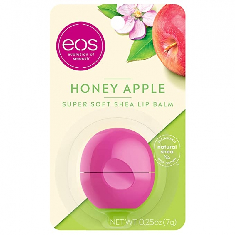 ihocon: eos Super Soft Shea Lip Balm - Honey Apple, 0.25 oz 潤唇膏