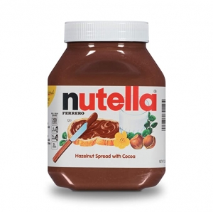 ihocon: Nutella Chocolate Hazelnut Spread, Perfect Topping for Pancakes, 35.2 Oz Jar 巧克力榛果抹醬