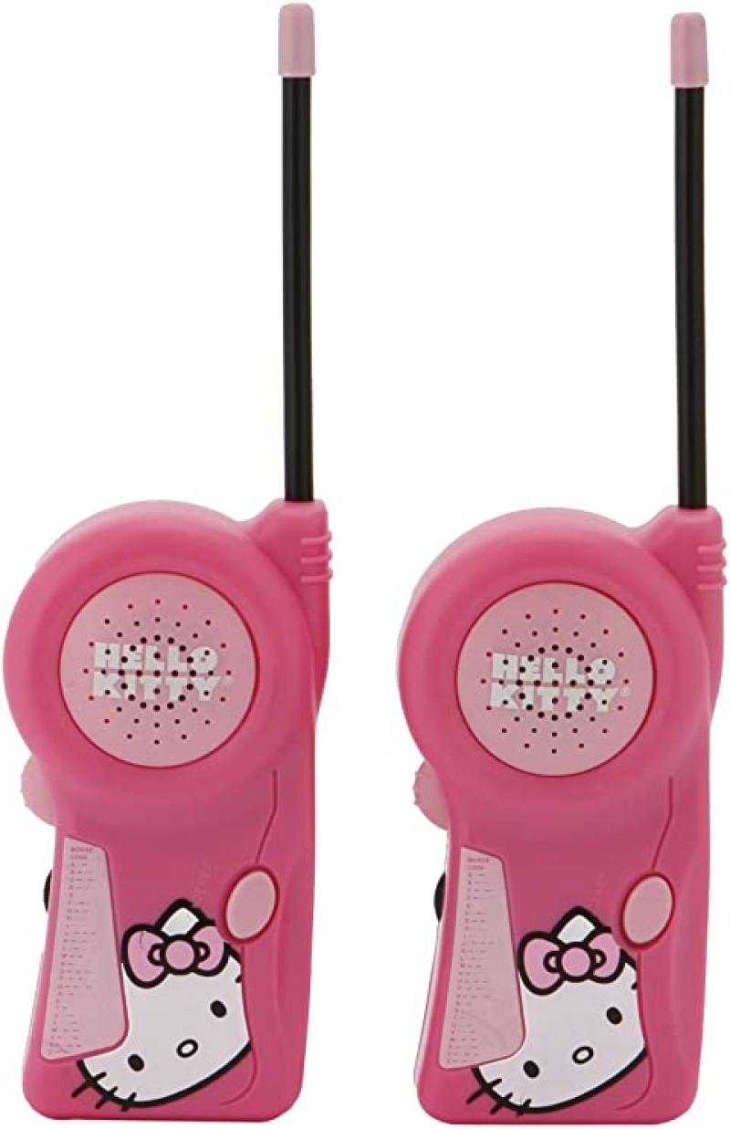 ihocon: Walkie Talkie 33409 Sanrio Hello Kitty 兒童對講機