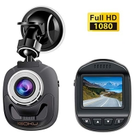 ihocon: iGOKU Mini Dash Cam 1080P Full HD Dash Camera迷你行車記錄器