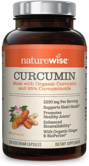 ihocon: NatureWise Curcumin Turmeric 2250mg (2 Month Supply)薑黃