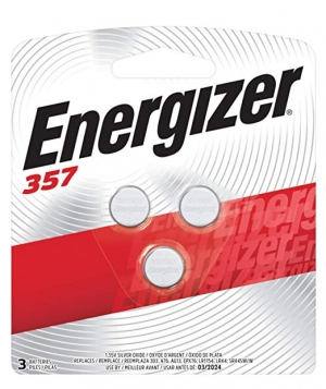 ihocon: Energizer 357/303 Battery 鈕釦電池 3粒