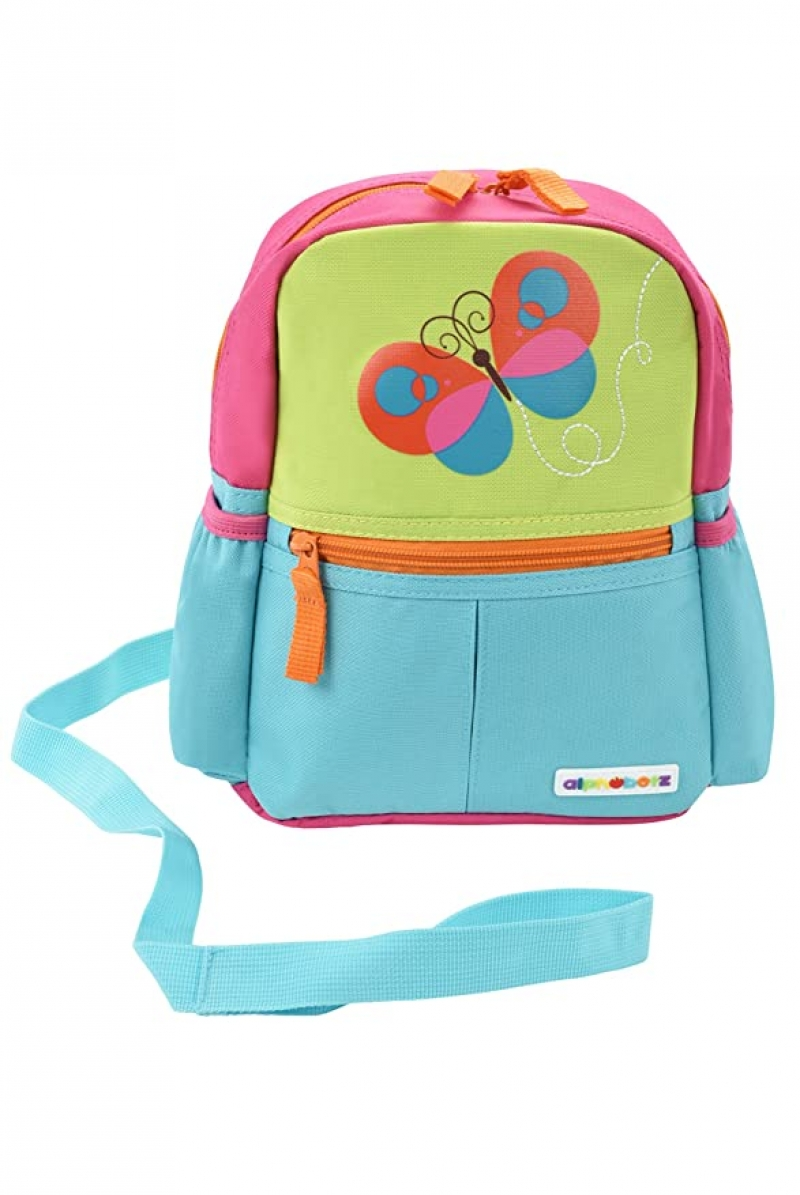 ihocon: Alphabetz Butterfly Toddler Backpack with Leash, Safety Harness 幼兒防走失牽繩背包