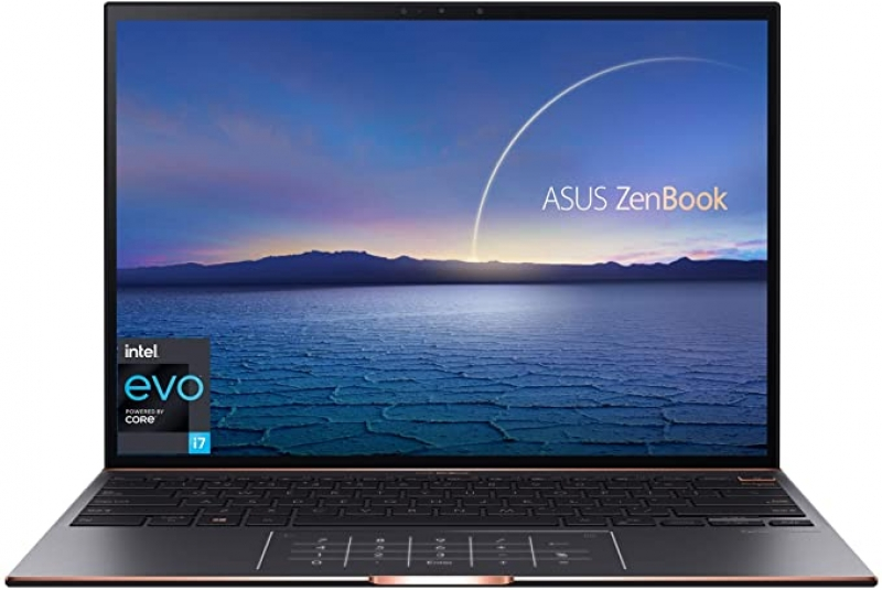 ihocon: Asus ZenBook S 13.9 Touchscreen Laptop with Intel 4 Core Intel Core i7-1165G7 / 16GB RAM / 1TB SSD / Windows 10 Professional