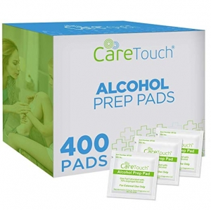 ihocon: Care Touch Sterile Alcohol Prep Pads, Medium 2-Ply - 400 Alcohol Wipes  酒精消毒片