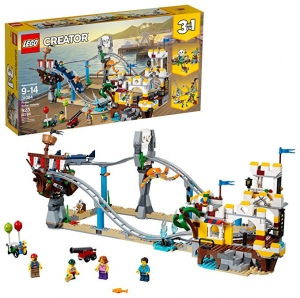 ihocon: LEGO Creator 3in1 Pirate Roller Coaster 31084 Building Kit (923 Piece)