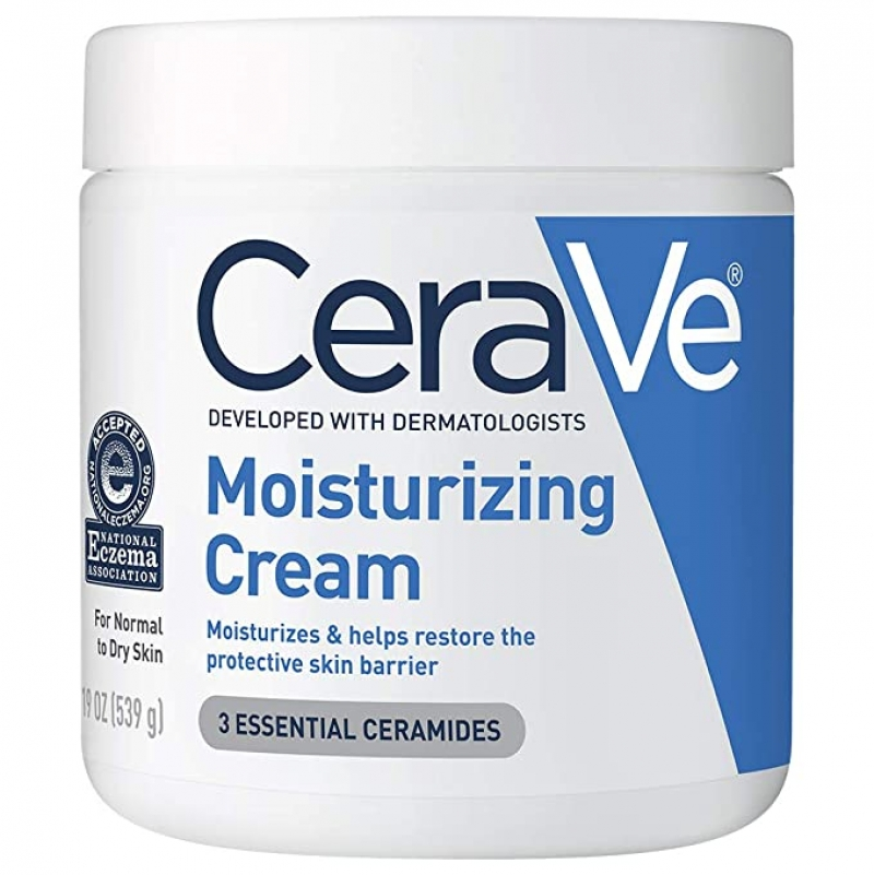 ihocon: CeraVe Moisturizing Cream for Normal to Dry Skin, 19 Ounce 無香精保濕霜