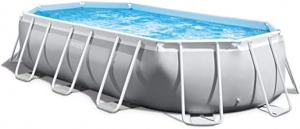 ihocon: Intex 26795EH Oval Prism Frame Pool Set, 16.5ft X 9ft X 48in 橢圓游泳池