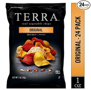 ihocon: TERRA Original Chips with Sea Salt, 1 oz. (Pack of 24)