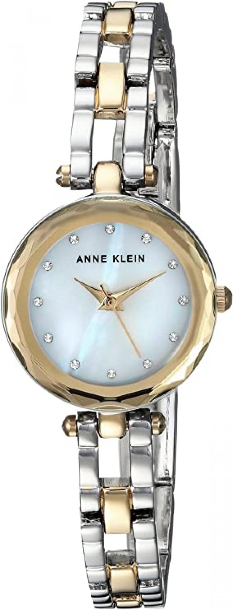 ihocon: Anne Klein Women's Swarovski Crystal Watch 鑲施華洛世奇水晶女錶