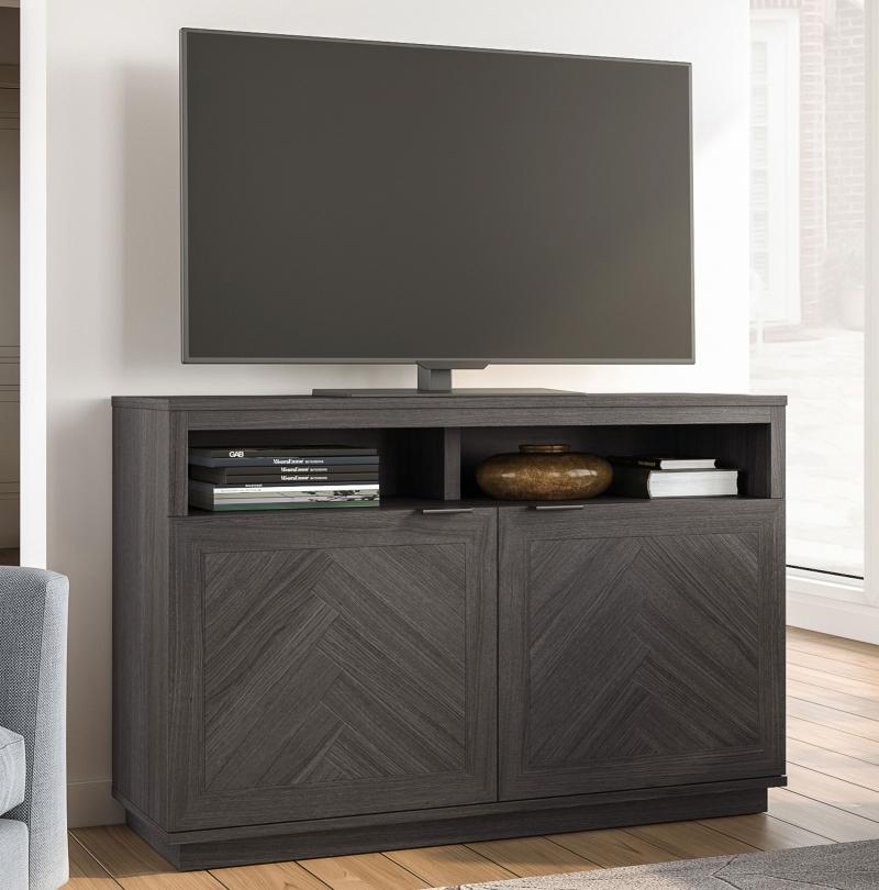 "ihocon: Better Homes & Gardens Hendrix Herringbone Style TV Stand For TVs up to 55"" 電視櫃"