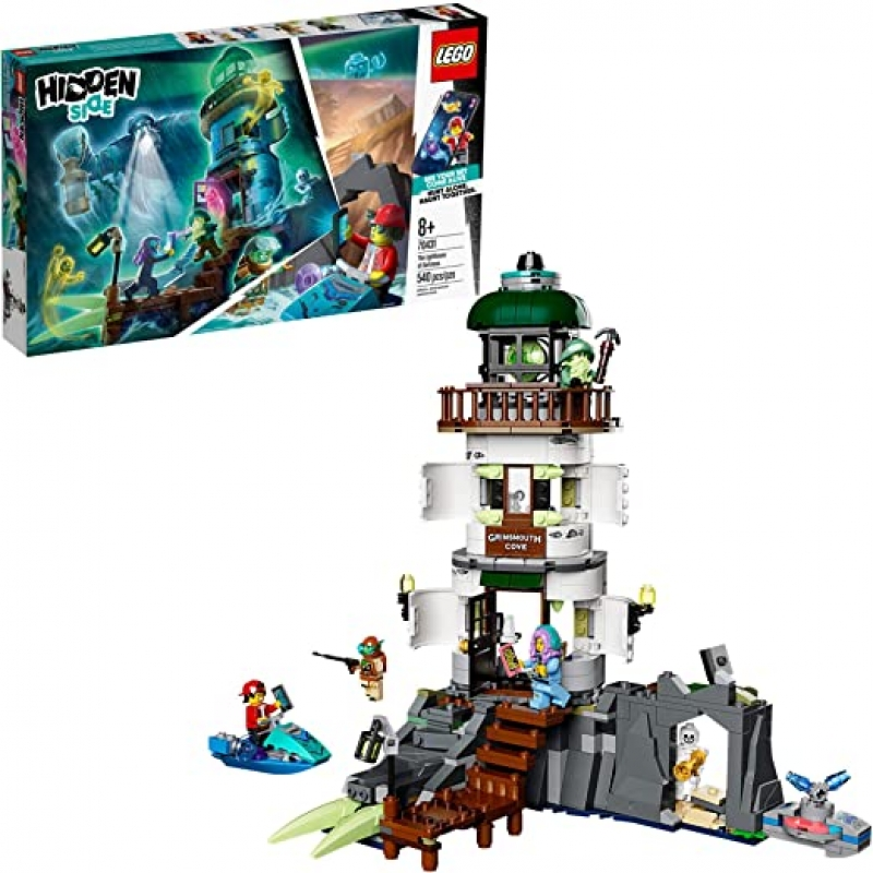 ihocon: [2020新款] LEGO Hidden Side The Lighthouse of Darkness 70431 Ghost Toy, Unique Augmented Reality Experience for Kids, New 2020 (540 Pieces)