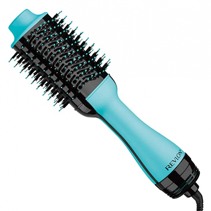 ihocon: REVLON One-Step Hair Dryer And Volumizer Hot Air Brush, Mint 髮梳吹風機