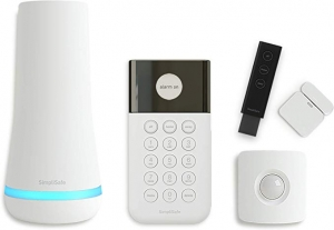 ihocon: SimpliSafe 5 Piece Wireless Home Security System Compatible with Alexa & Google Assistant 無線居家安全警報系統