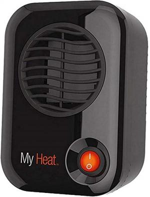 ihocon: Lasko 100 MyHeat Personal Ceramic Heater, Compact, Black 個人小型陶瓷電暖爐