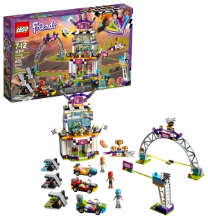 ihocon: LEGO Friends The Big Race Day 41352 (648 Piece)