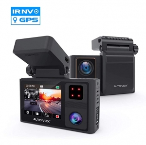 ihocon: Auto-Vox 1920x1080P FHD Dual Dash Cam with Magnetic Bracket 前後雙鏡頭行車記錄器