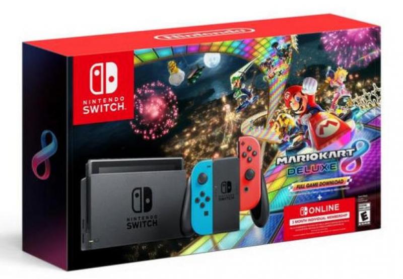 ihocon: Nintendo Switch Console + Mario Kart 8 Deluxe