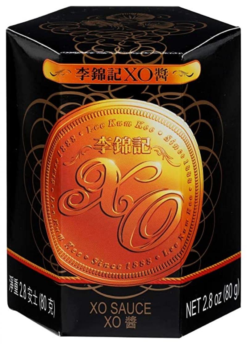 ihocon: Lee Kum Kee XO Sauce, Scallops, Shrimp, Chili Pepper and Spices, 2.8-Ounces (Pack of 6) 李錦記XO醬