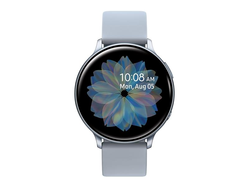 ihocon: Samsung Galaxy Watch Active 2 (44mm, GPS, Bluetooth), Silver (US Version)智慧錶