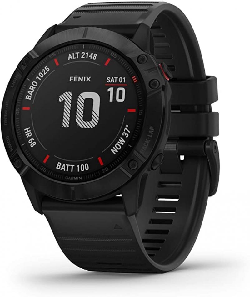 ihocon: Garmin fenix 6X Pro Premium Multisport GPS Watch智能運動錶