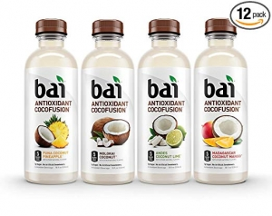 ihocon: Bai Coconut Flavored Water, Cocofusions Variety Pack II, 18 Fluid Ounce Bottles, 12 count 椰子味水
