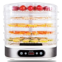 ihocon: zociko Food Dehydrator Machine, 5 Stackable Trays, Digital Timer 450W, BPA Free Dishwasher Safe 五層食品脫水乾燥機