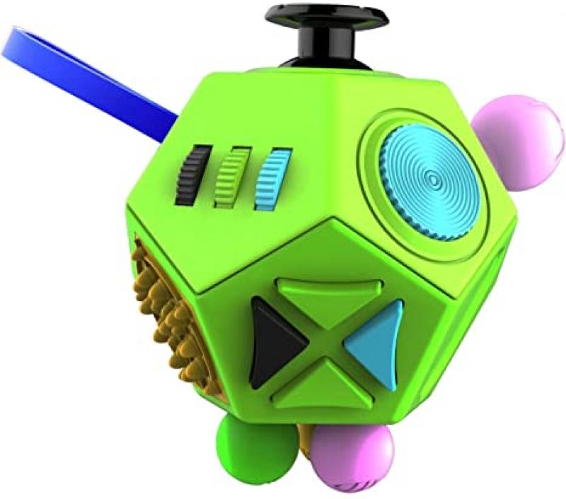 ihocon: DoDoMagxanadu Fidget Dodecagon –12-Side Fidget Cube 舒解壓力12面玩具
