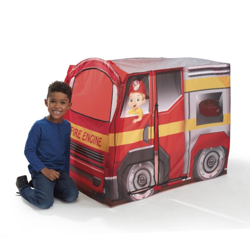 ihocon: Playhut - Fire Engine EZ Vehicle Pop-Up Play Tent兒童遊戲帳