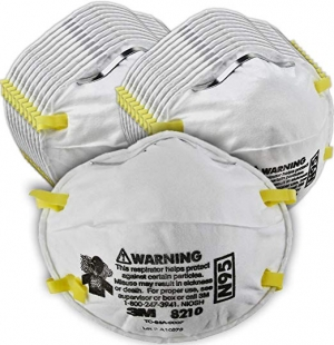 ihocon: [NIOSH APPROVED] 3M Particulate Respirator N95口罩10個
