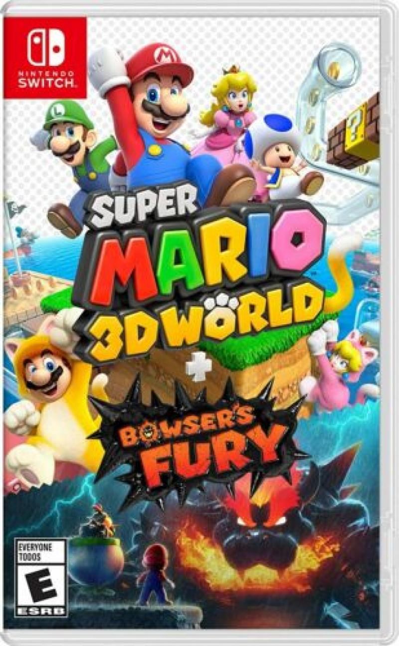 ihocon: Nintendo Switch遊戲 - Super Mario 3D World + Bowser's Fury