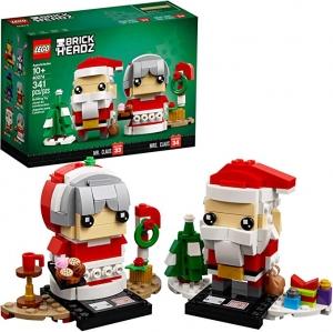 ihocon: LEGO BrickHeadz Mr. & Mrs. Claus 40274 Building Kit (341 Pieces)