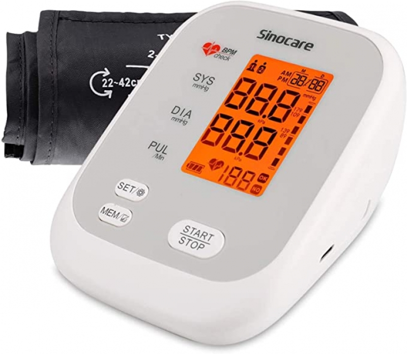 ihocon: Sinocare Blood Pressure Monitor Upper Arm上臂血壓計