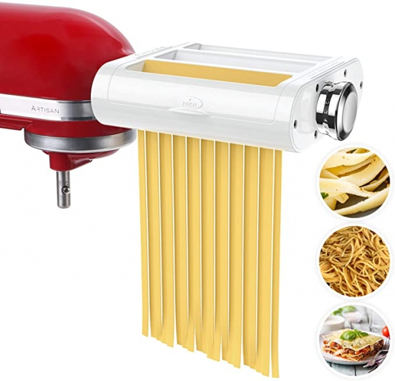ihocon: Antree 3-in-1 Pasta Maker Attachment for Stand Mixers 壓麵配件 (適用KitchenAid攪拌機)