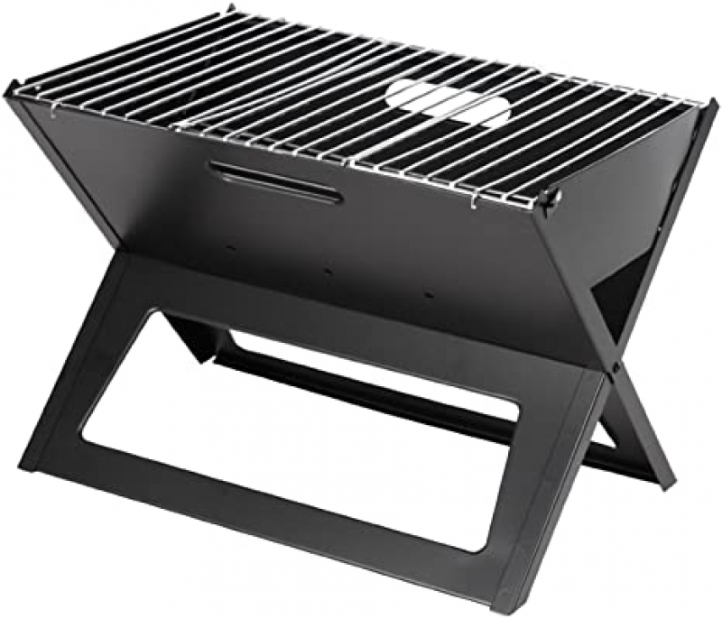 ihocon: Fire Sense Black Notebook Charcoal Grill 炭烤爐