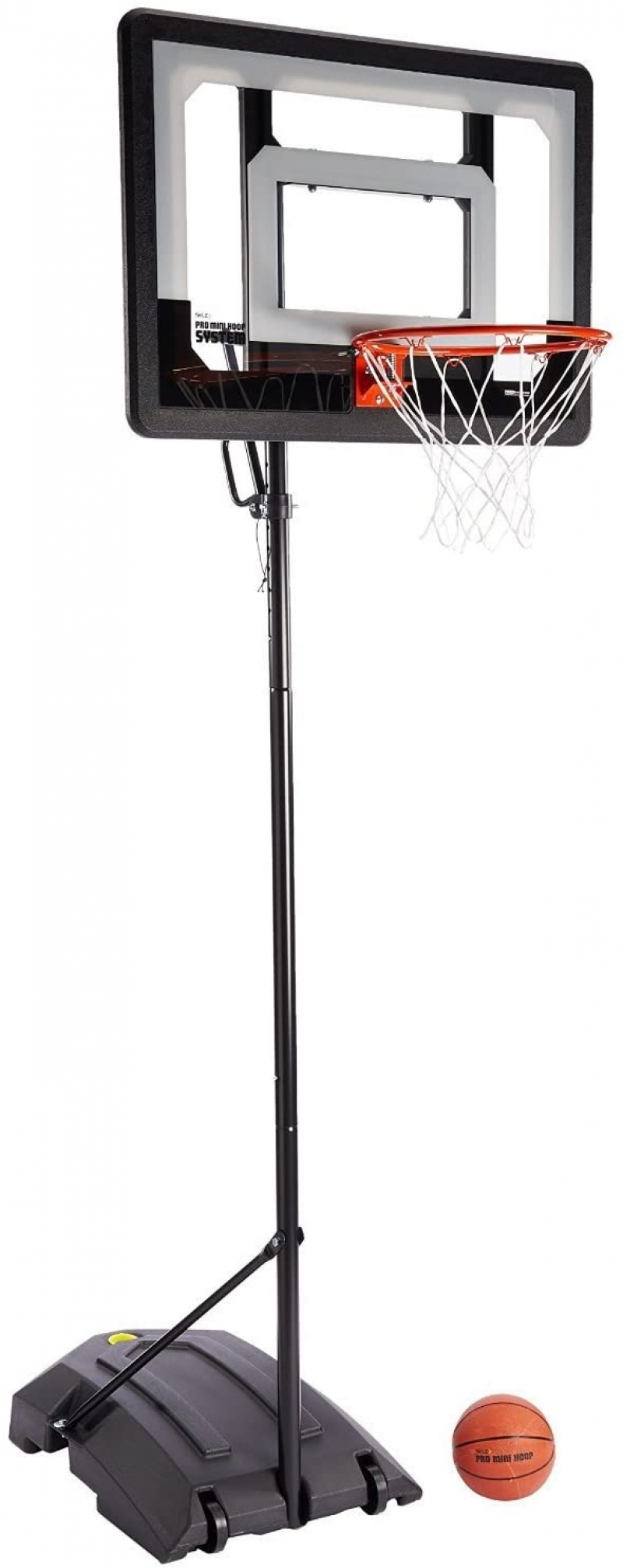 ihocon: SKLZ Pro Mini Hoop Basketball System with Adjustable-Height Pole and 7-Inch Ball 小型籃球框及籃球