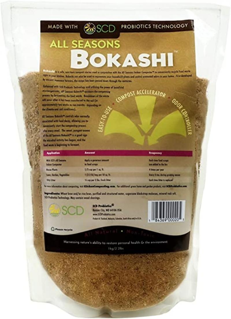 ihocon: SCD All Seasons Bokashi 2.2-lbs Indoor Composting 室內廚餘發酵堆肥劑