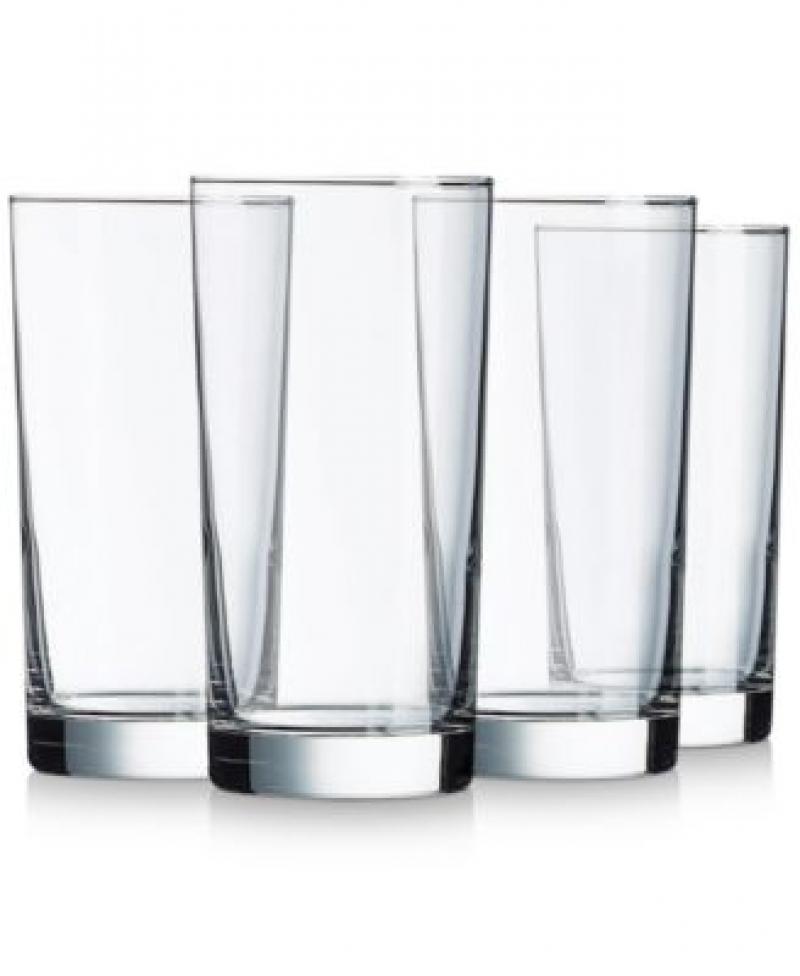 ihocon: Luminarc Aristocrat 15.5oz Cooler Glasses, Set of 4 玻璃杯