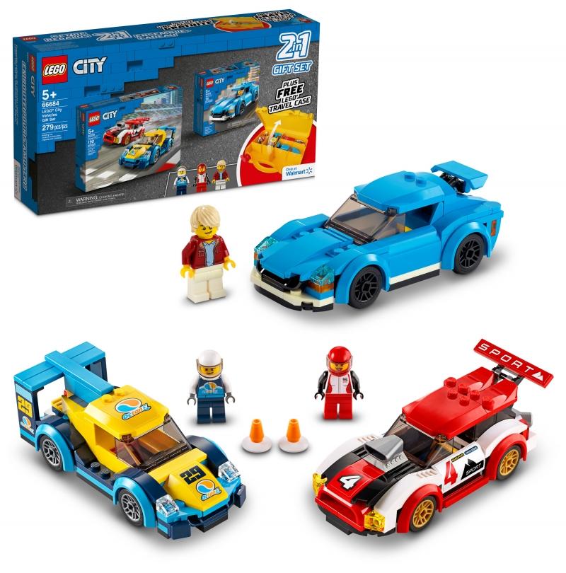 ihocon: 樂高積木LEGO City Vehicles Gift Set 66684