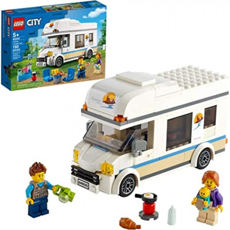 ihocon: [2021新款] 樂高積木LEGO City Holiday Camper Van 60283 Building Kit New 2021 (190 Pieces)