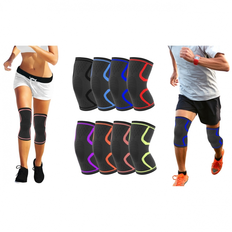 ihocon: 2-Pack Athletics DCF Knee Compression Sleeve Support 護膝2副