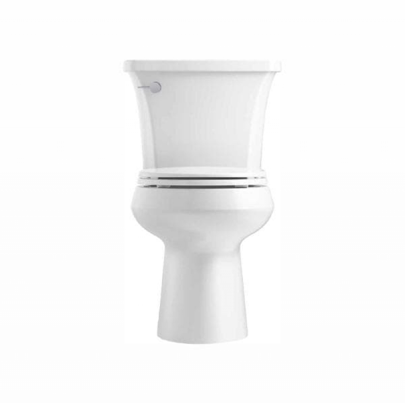 ihocon: Highline Arc The Complete Solution 2-piece 1.28 GPF Single Flush Round-Front Toilet in White (Slow-Close Seat Included)   馬桶(含慢速下放馬桶蓋)