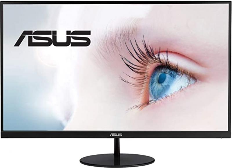 ihocon: ASUS VL249HE 23.8吋 Eye Care Monitor, 1080P Full HD, 75Hz, IPS, Adaptive-Sync/FreeSync, Eye Care, HDMI VGA, Frameless Slim Design, VESA Wall Mountable 全高清護眼顯示器